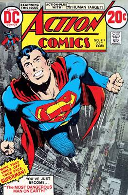 Action Comics Vol. 1 (1938-2011; 2016-) (Comic Book) #419