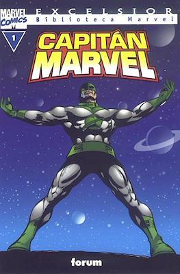 Biblioteca Marvel: Capitán Marvel (2002) (Rústica 160 pp) #1