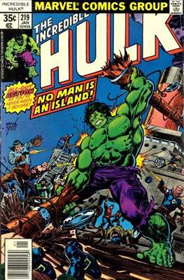 The Incredible Hulk Vol. 1 (1962-1999) (Comic Book) #219