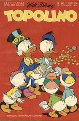 Topolino (Brossurato) #996