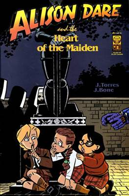 Alison Dare and the Heart of the Maiden