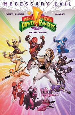 Mighty Morphin Power Rangers (Softcover) #13