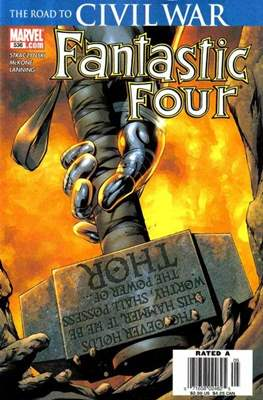 Fantastic Four Vol. 3 (Comic Book) #536