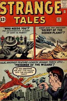 Strange Tales Vol 1 (Comic Book) #102