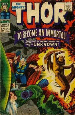 Journey into Mystery / Thor Vol 1 #136