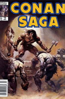 Conan Saga (Comic-book) #15