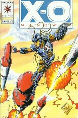 X-O Manowar (1992-1996) (Comic Book) #23