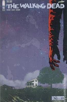 The Walking Dead (Variant Cover) (Comic Book) #193.1
