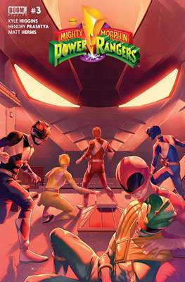 Mighty Morphin Power Rangers (Comic Book) #3