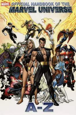 Official Handbook of the Marvel Universe A-Z #8