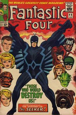 Fantastic Four Vol. 1 (1961-1996) (saddle-stitched) #46