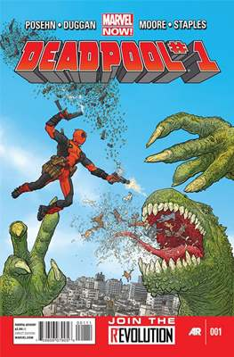 Deadpool Vol 3 (Comic-Book) #1
