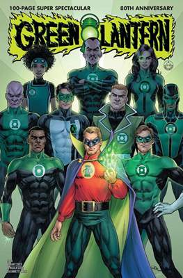 Green Lantern 80th Anniversary 100-Page Super Spectacular #1 (Variant Cover) (Softcover 100 pp) #1