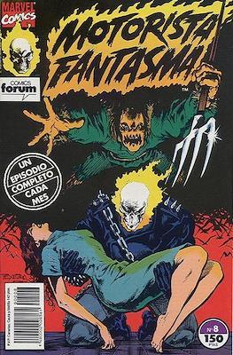 Motorista Fantasma (1991-1994) (Grapa. 17x26. 24 páginas. Color. (1991-1994).) #8