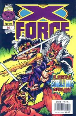 X-Force Vol. 2 (1996-2000) (Grapa 24 pp) #16