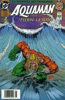 Aquaman pierde la mano