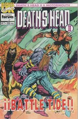 Death's Head II / Motormouth (1993-1994) (Grapa 48 pp) #7