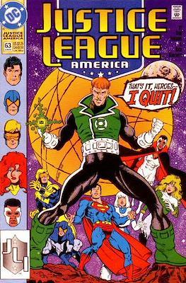 Justice League / Justice League International / Justice League America (1987-1996) (Comic-Book) #63