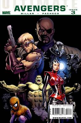 Ultimate Avengers (Comic-book) #3