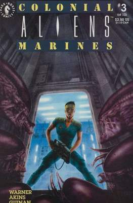 Aliens: Colonial Marines (Saddle-stitched. 1993) #3