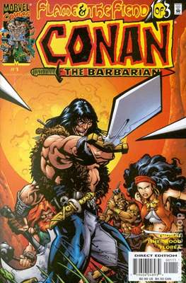Conan Flame and the Fiend (2000) (Grapa) #1