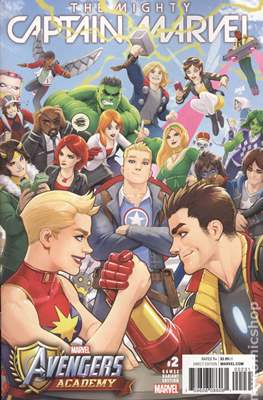 The Mighty Captain Marvel (2017-) Variant Covers #2.1