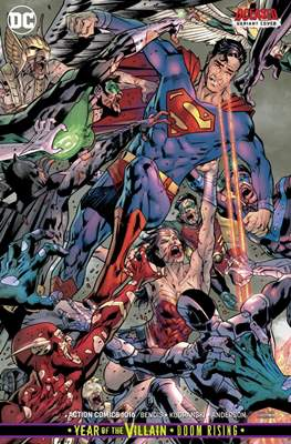 Action Comics Vol. 1 (1938-2011; 2016-... Variant Covers) (Comic Book) #1016