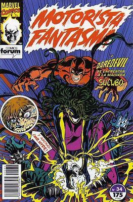 Motorista Fantasma (1991-1994) (Grapa. 17x26. 24 páginas. Color. (1991-1994).) #34