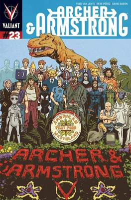 Archer & Armstrong (Comic Book) #23