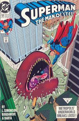 Superman: The Man of Steel (Comic book) #12
