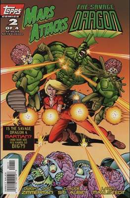 Mars Attacks The Savage Dragon #2