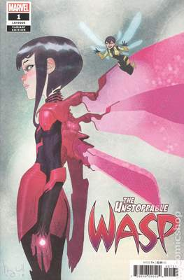 The Unstoppable Wasp Vol. 2 (2018-2019 Variant Cover)