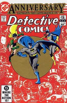 Detective Comics Vol. 1 (1937-2011; 2016-) (Comic Book) #526