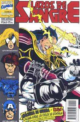 Lazos de Sangre (1994) (Grapa. 17x26. 32 páginas. Color. (1994).) #3