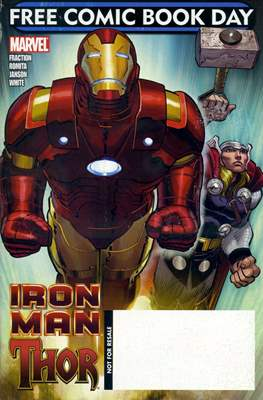 Iron Man / Thor. Free Comic Book Day 2010