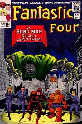 Fantastic Four Vol. 1 (1961-1996) (saddle-stitched) #39
