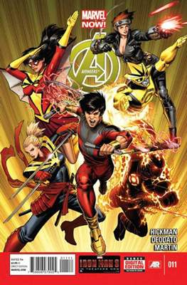 Avengers Vol. 5 (2013-2015) (Comic Book) #11