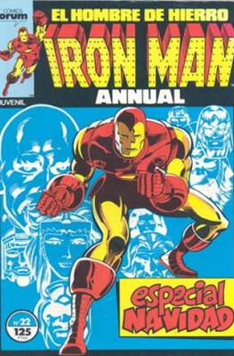 Iron Man Vol. 1 / Marvel Two-in-One: Iron Man & Capitán Marvel (1985-1991) (Grapa, 36-64 pp) #22