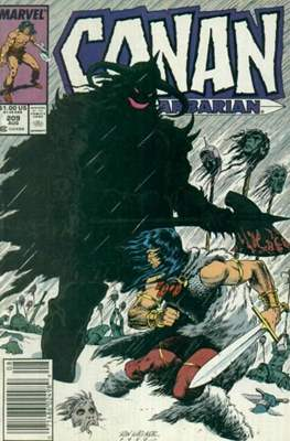 Conan The Barbarian (1970-1993) (Comic Book 32 pp) #209