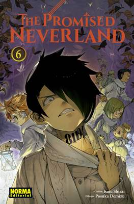The Promised Neverland (Rústica con sobrecubierta) #6