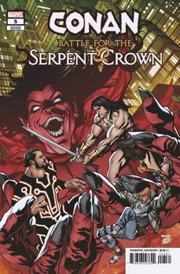 Conan: Battle for the Serpent Crown (Variant Cover) #5