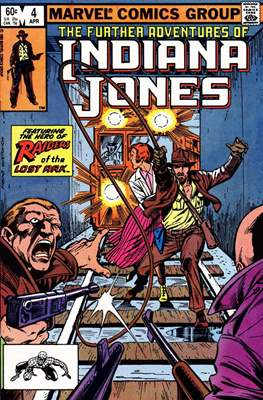 The Further Adventures of Indiana Jones (Comic-book) #4
