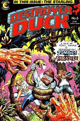 Destroyer Duck (Comic Book. 1982) #6