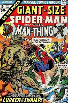 Giant-Size Spider-Man Vol 1 (Grapa) #5