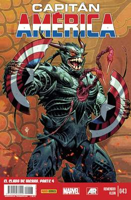 Capitán América Vol. 8 (2011-) #43