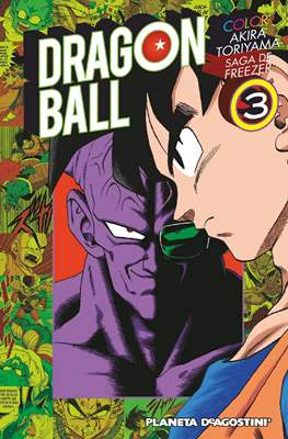 Dragon Ball Color: Saga de Freezer (Rústica con sobrecubierta) #3