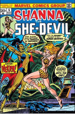 Shanna the She-Devil Vol. 1 (comic grapa usa) #5
