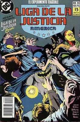 Liga de la Justicia / Liga de la Justicia internacional / Liga de la Justicia de America (1988-1992) (Grapa) #26