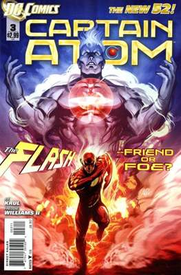 Captain Atom The New 52! (2011-2012) #3