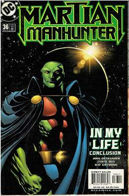 Martian Manhunter Vol. 2 (Comic Book 24 pp) #36